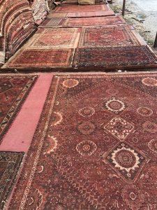 تصویری از قالیشویی فرش ماشینی
