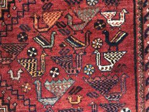 نمونه ای از فرش دستباف