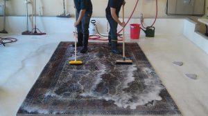 نمایی از شرکت قالیشویی فرش حرفه ای