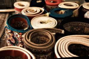 تصویری از چند فرش تجاری