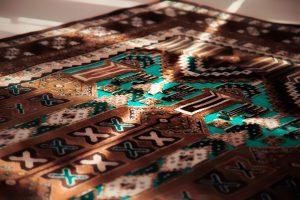 نمونه ای از یک مدل زیبای فرش