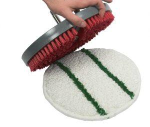 تصویری از روش Bonnet Cleaning