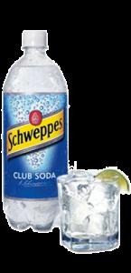 آب گازدار (club soda)