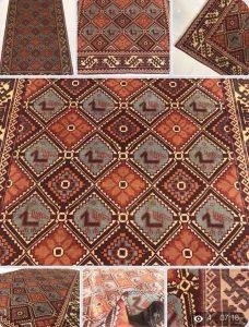قاليچه كردي قوچان ريز بافت / خرید فرش