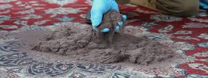غبارگیری و خاک گیری فرش دستباف